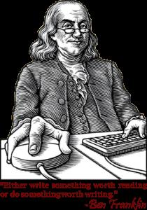 Ben Franklin-Lineart